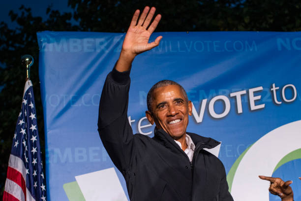NJ: Barack Obama Joins Phil Murphy For Early Vote Rally Ahead Of New Jersey Governor Election