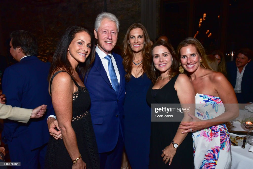 Former U.S. President Bill Clinton and Guests attend the Oceana New York Gala at Blue Hill at Stone Barns on September 13, 2017 in Tarrytown, New York.