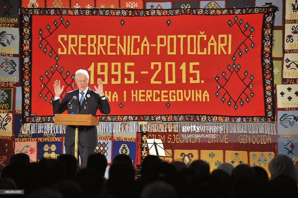 BOSNIA-CONFLICT-SREBRENICA-ANNIVERSARY : News Photo
