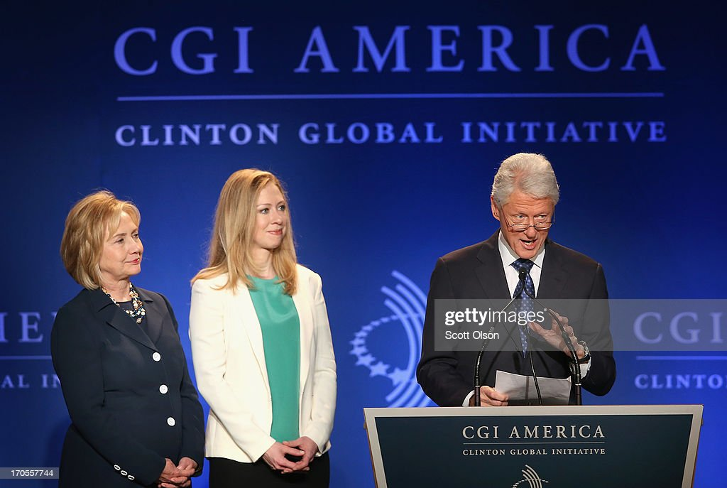 Clinton Global Initiative America Meetings Held In Chicago : News Photo