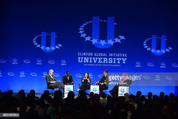 Former US President Bill Clinton Yale Student Paul Lorem Actress America Ferrera United States Surgeon General Vivek Murthy and Nobel Peace Prize...