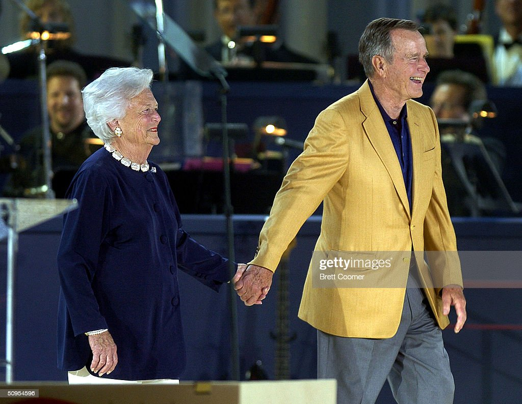 Former President George H.W. Bush Holds 80th Birthday Celebration