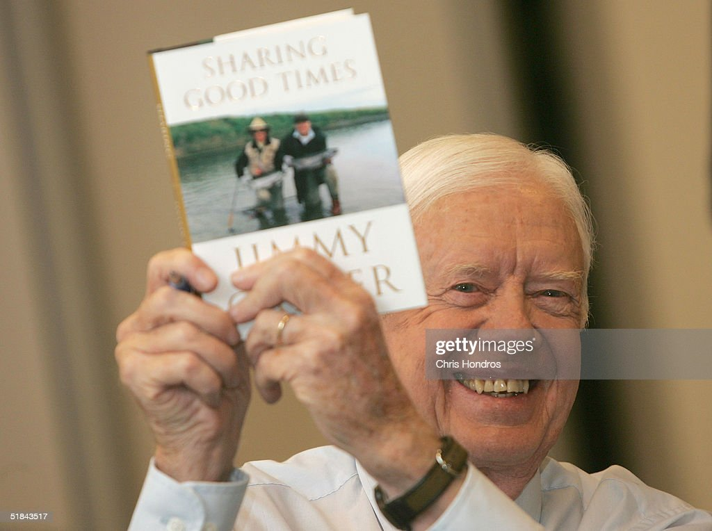 Jimmy carter thumbs up sign picture