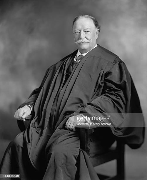 Former US President William Howard Taft as Chief of Supreme Court Portrait circa 1920's