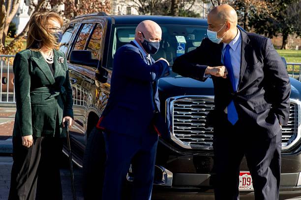 DC: Mark Kelly Sworn-In As New Senator From Arizona