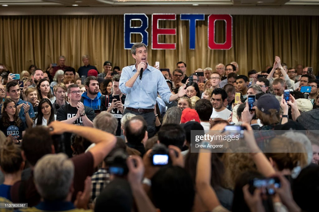 VA: Democratic Presidential Candidate Beto O'Rourke Holds Town Hall In Alexandria, Virginia