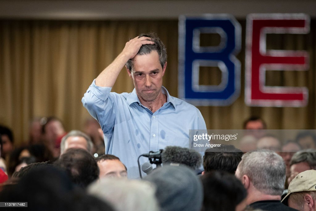 Democratic Presidential Candidate Beto O'Rourke Holds Town Hall In Alexandria, Virginia : News Photo