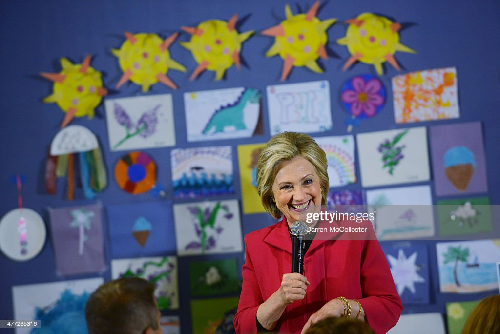 Democratic Presidential Candidate Hillary Clinton Campaigns In New