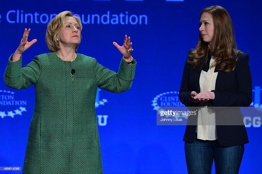 Clinton Global Initiative University : News Photo