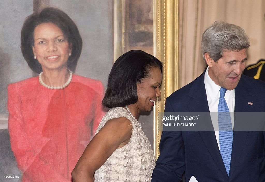 condoleezza rice photos photos u s secretary of john kerry unveils portrait of condoleezza rice at state