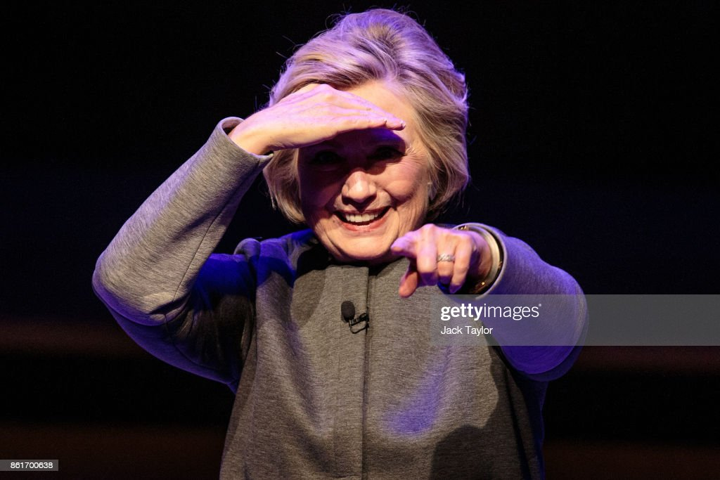 Hillary Clinton Appears At The Southbank Centre's London Literature Festival : News Photo