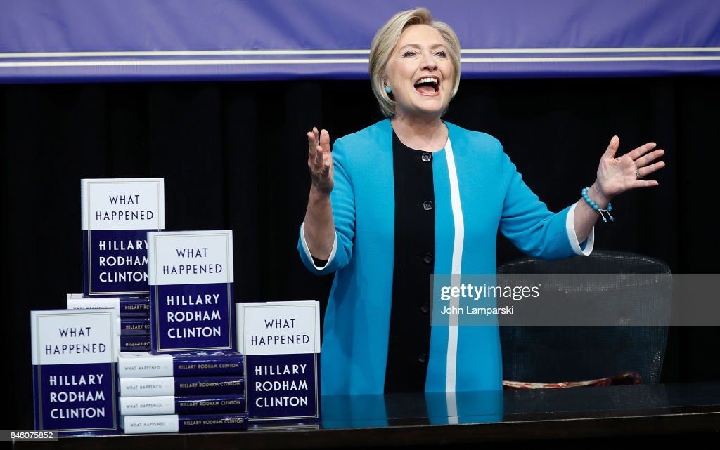 "Hillary Clinton Signs Copies Of ""What Happened"""
