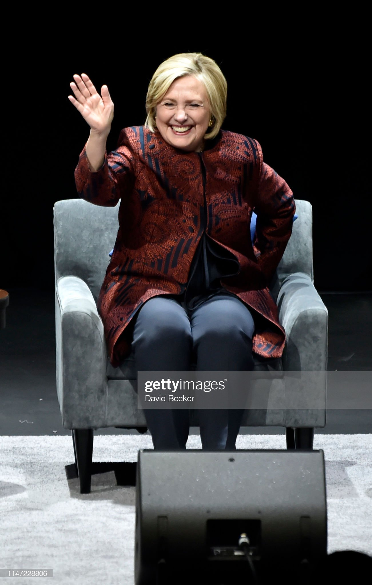 Bill And Hillary Clinton Hold Discussion Series Event In Las Vegas : News Photo