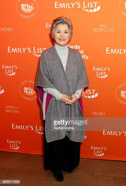 Former US Senator Barbara Boxer attends EMILY's List's Resist Run Win PreOscars Brunch on February 27 2018 in Los Angeles California