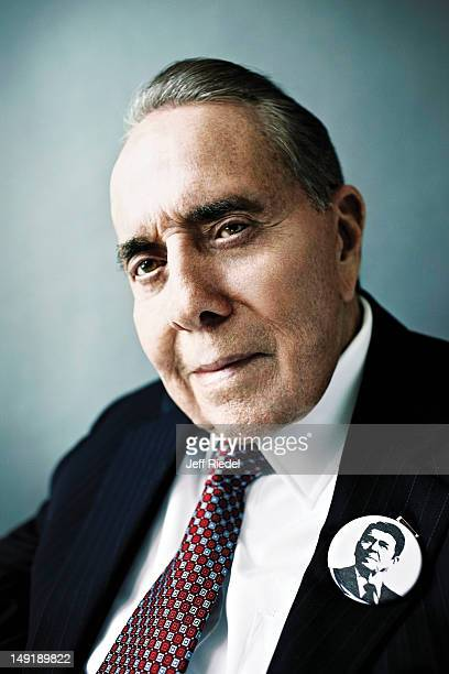 Former US Senator Bob Dole is photographed for GQ Magazine on May 1 2012 in New York City