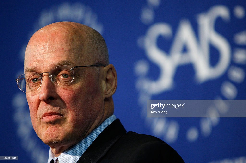 Henry Paulson Discusses His Book On Financial Crisis
