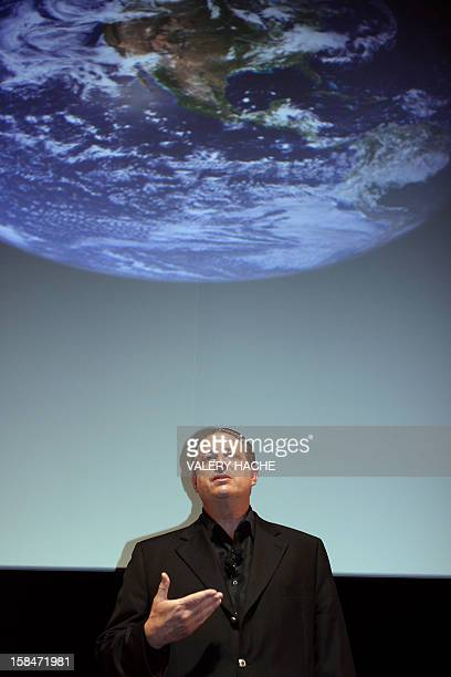 Former US vice president Al Gore delivers a speech before a screening of the film he helped make of his bestselling global warming book An...