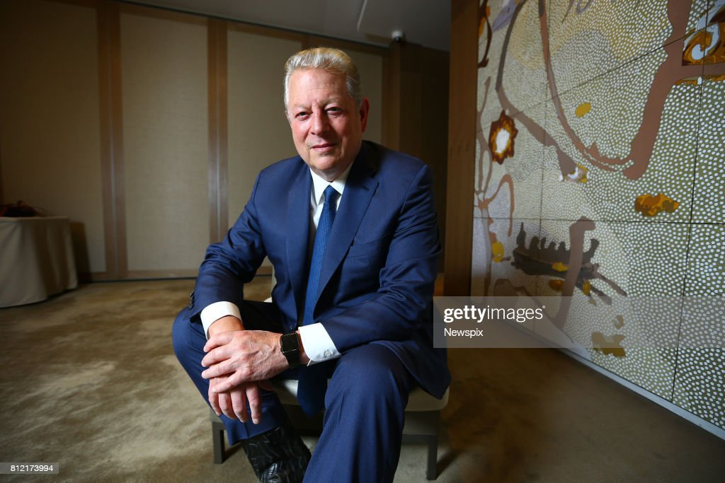Al Gore Portrait Shoot