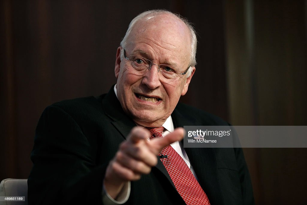 Dick And Lynne Cheney Participate In Book Discussion In Washington