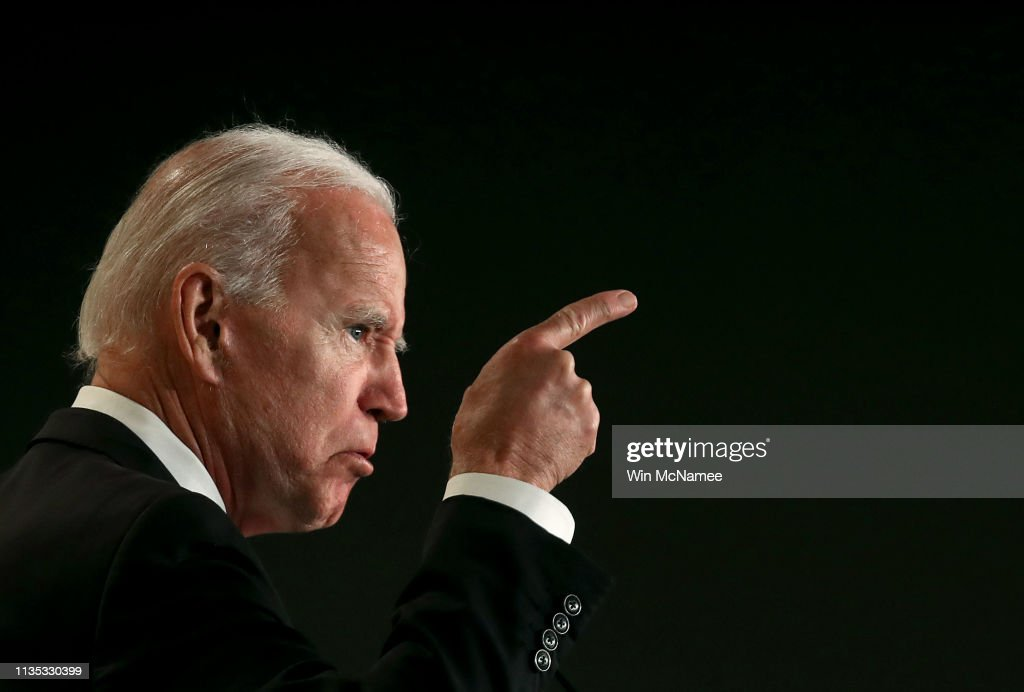 Former VP Joe Biden Addresses Int'l Association Of Fire Fighters Conference : News Photo
