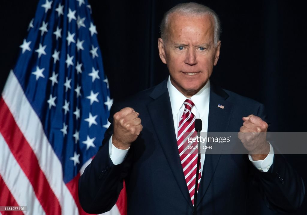 US-POLITICS-BIDEN : News Photo