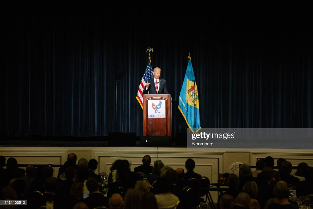 Former Vice President Joe Biden Speaks At First State Democratic Dinner : News Photo