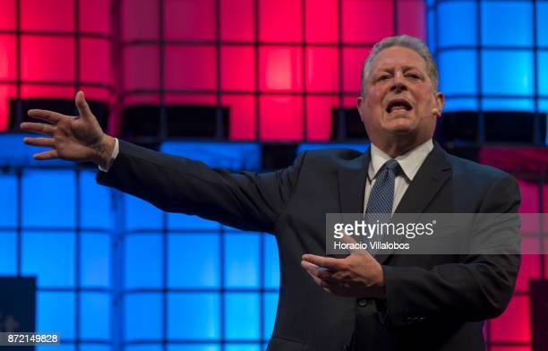 Former USA Vice President Al Gore Chairman Generation Investment Management talks about The innovation community's role in solving the climate crisis...