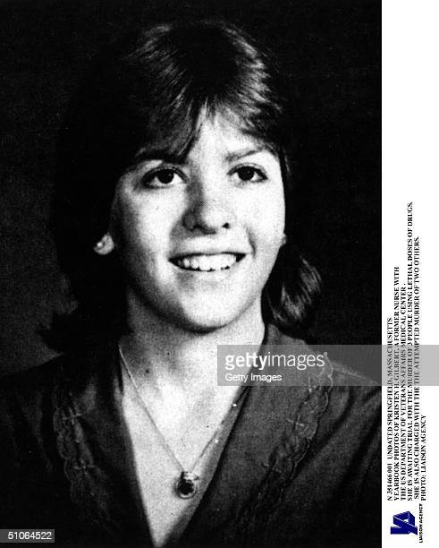 Former Va Hospital Nurse Kristen Gilbert In An Undated Yearbook