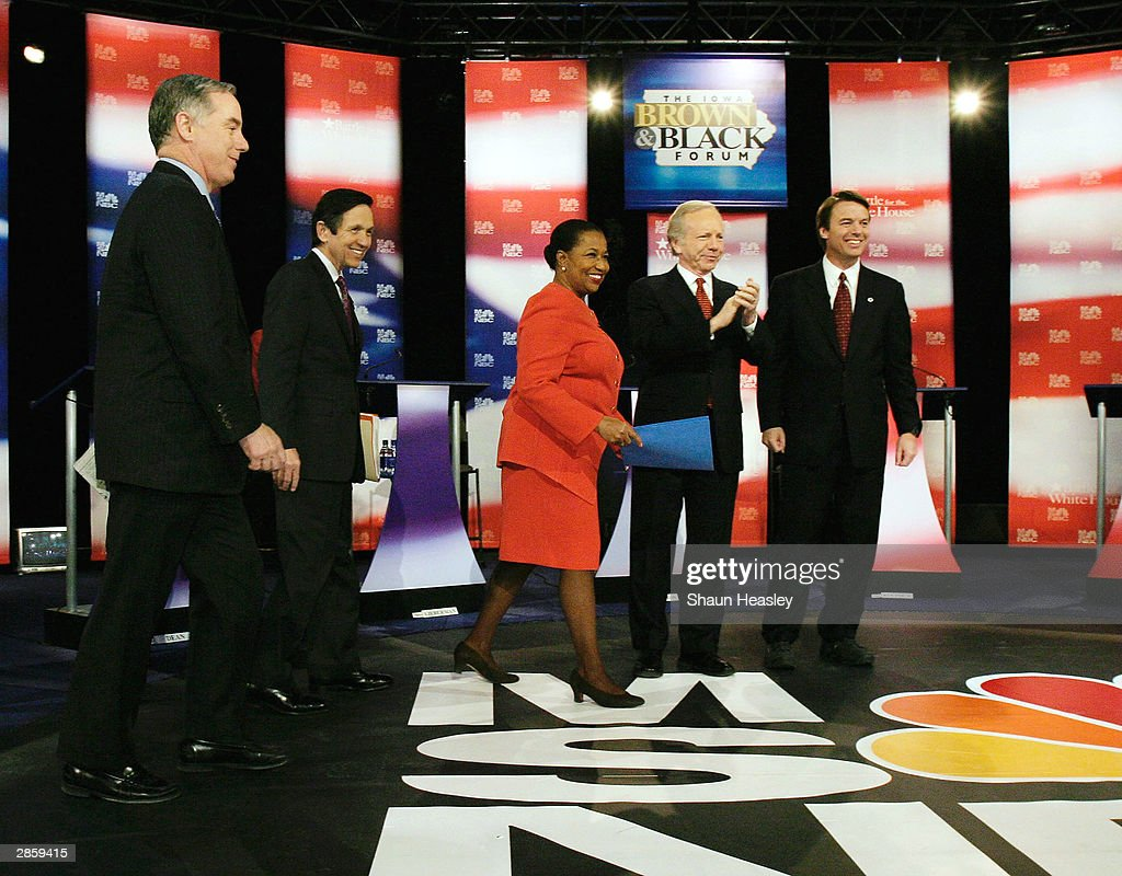 Brown And Black Presidential Forum 2004 Takes Place In Des Moines, Iowa