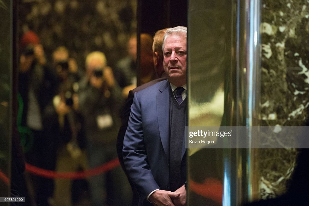President-Elect Donald Trump Holds Meetings At Trump Tower : News Photo