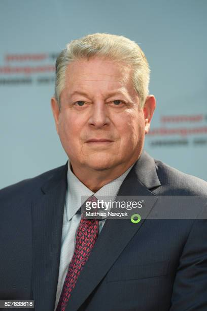 Former Vice President Al Gore attends a press conference for 'An Inconvenient Sequel Truth to Power' at Hotel Adlon on August 8 2017 in Berlin Germany