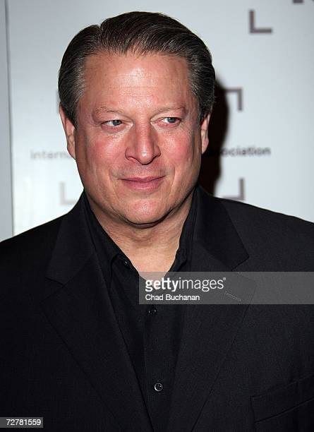 Former Vice President Al Gore attends the 2006 International Documentary Association Achievement Awards gala at the Directors Guild of America on...