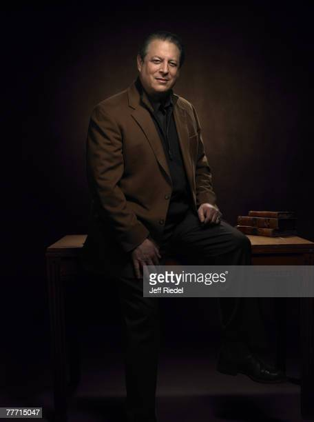Al Gore Al Gore by Jeff Riedel Al Gore InStyle March 1 2006 Park City Utah