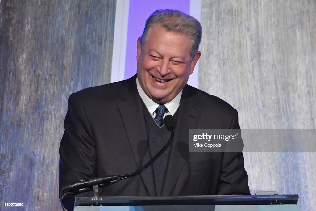 Former Vice President Al Gore speaks onstage during IFP's 27th Annual Gotham Independent Film Awards on November 27, 2017 in New York City.