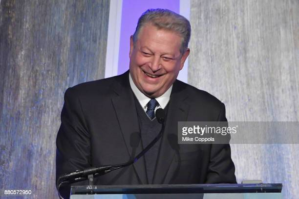 Former Vice President Al Gore speaks onstage during IFP's 27th Annual Gotham Independent Film Awards on November 27 2017 in New York City