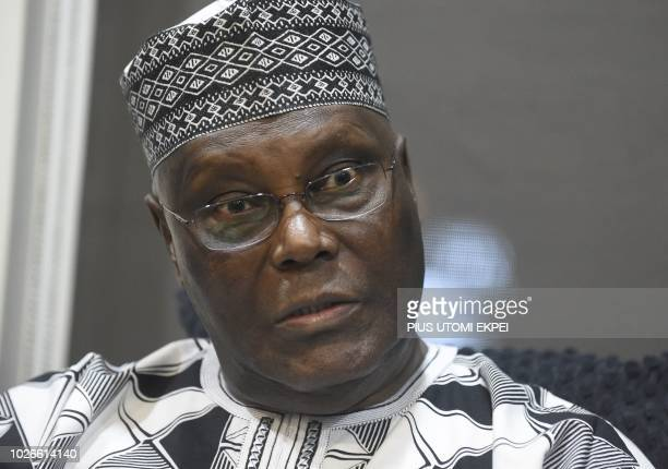 Former Vice President Atiku Abubakar candidate in the forthcoming primaries of the opposition People's Democratic Party ahead of next year's...