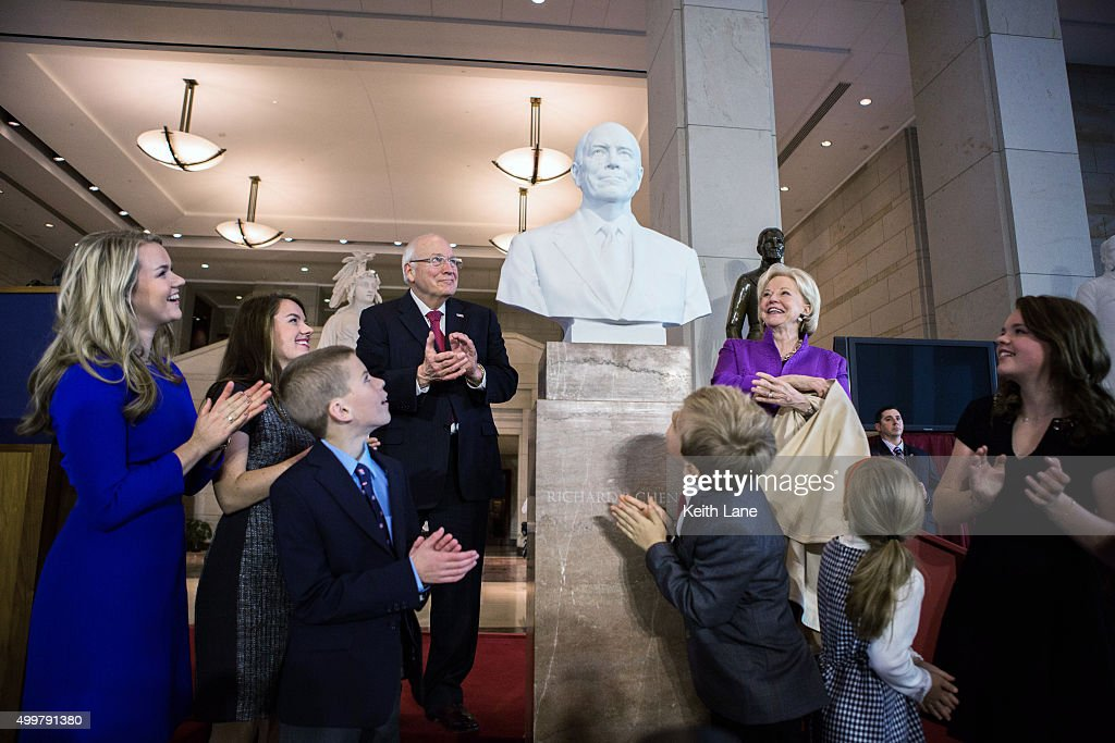 U.S. Senate Unveils Marble Bust Of Dick Cheney At U.S. Capitol
