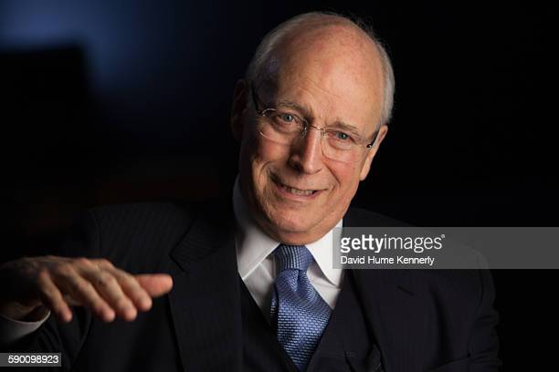 Former Vice President Dick Cheney is interviewed for the second time by Chris Whipple for 'The Presidents' Gatekeepers' project about White House...