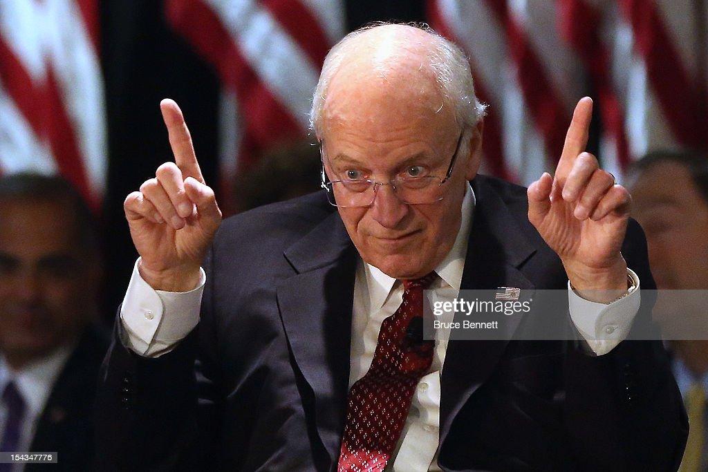 Cheney dick rifleman video