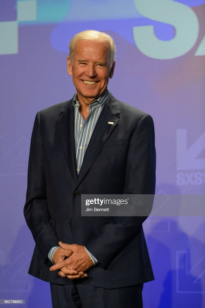 Former Vice President Joe Biden speaks during the SxSW Conference at the Austin Convention Center on March 12, 2017 in Austin, Texas.