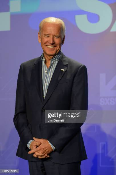 Former Vice President Joe Biden speaks during the SxSW Conference at the Austin Convention Center on March 12 2017 in Austin Texas
