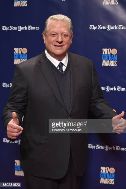 Former Vice President of the United States Al Gore attends IFP's 27th Annual Gotham Independent Film Awards on November 27 2017 in New York City