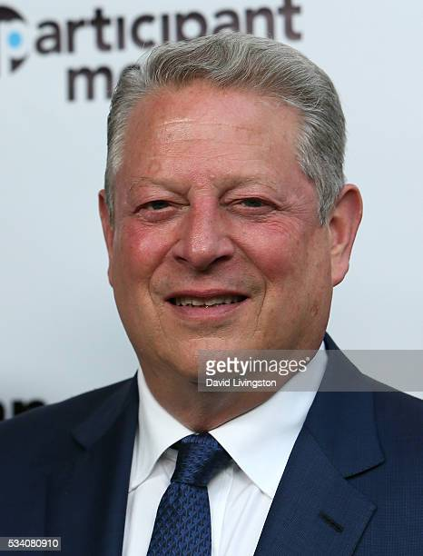 Former Vice President of the United States Al Gore attends the 10th anniversary of 'An Inconvenient Truth' at Smogshoppe on May 24 2016 in Los...