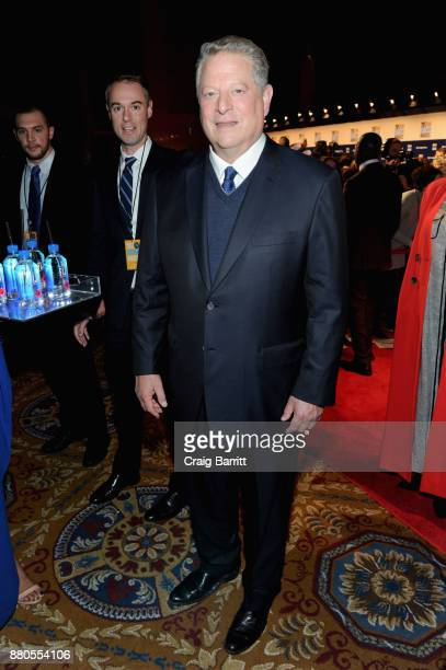 Former Vice President of the United States Al Gore attends The 2017 IFP Gotham Independent Film Awards cosponsored by FIJI Water at Cipriani Wall...
