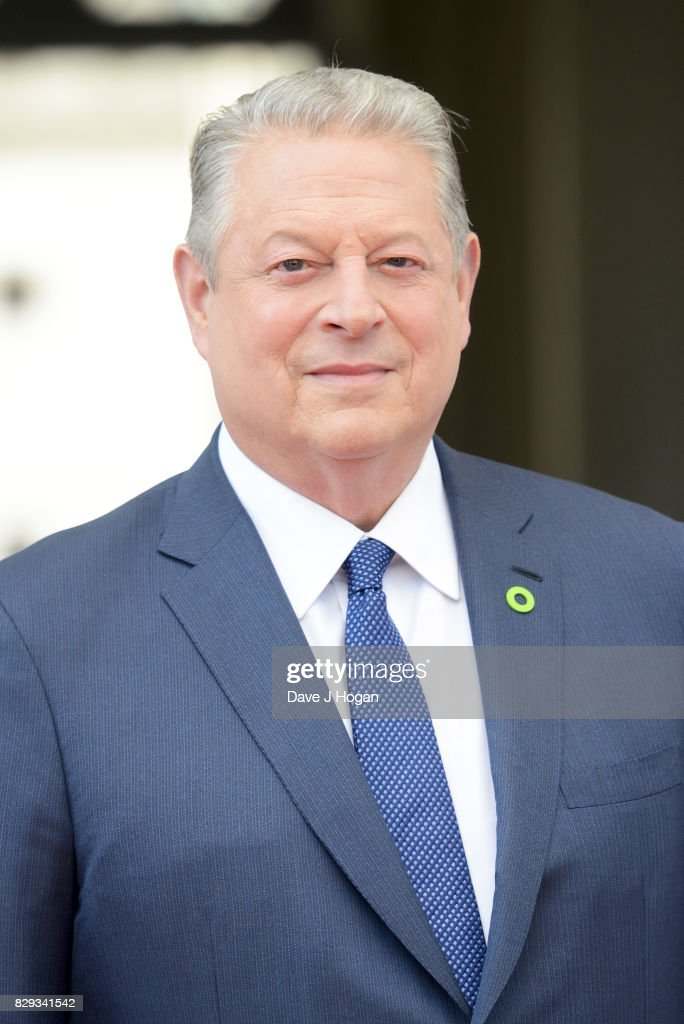 Former Vice President of the United States Al Gore attends the UK premiere of 'An Inconvenient Sequel: Power To Truth' at Somerset House on August 10, 2017 in London, England.