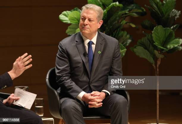 Former Vice President of the United States Al Gore speaks onstage during Teen Vogue Summit 2018 #TurnUp Day 2 at The New School on June 2 2018 in New...