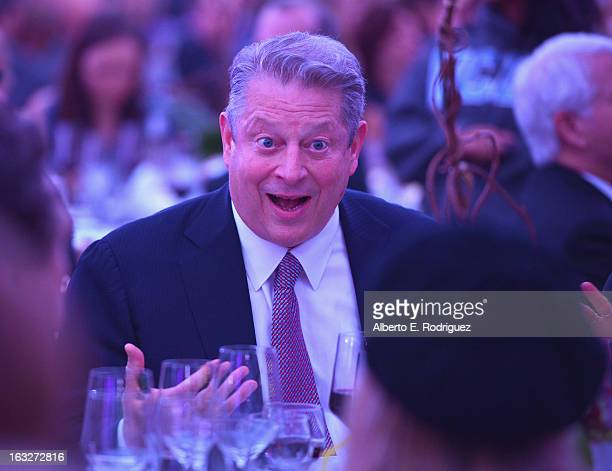 Former VicePresident Al Gore attends the UCLA Institute Of The Environment And Sustainability's 2nd Annual Evening Of Environmental Excellence on...