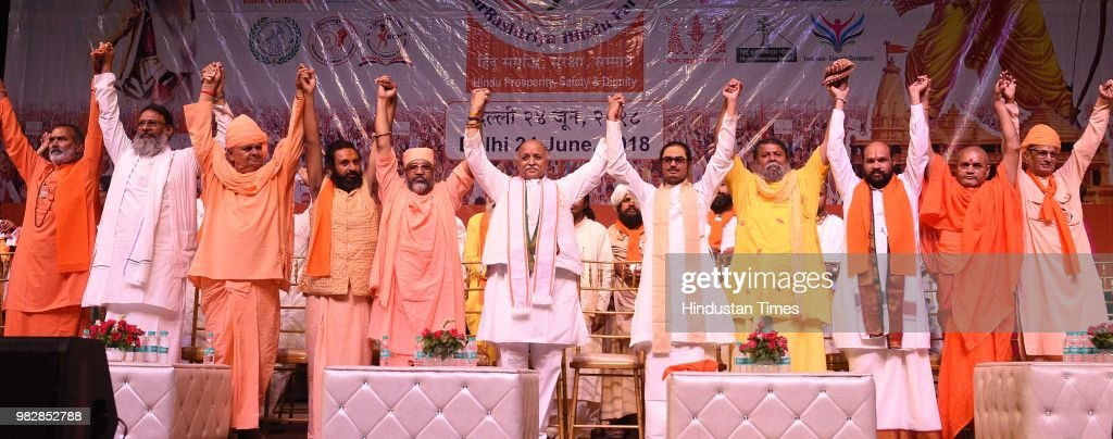 Former Vishwa Hindu Parishad Leader Pravin Togadia Launches His New Organization Antrarashtriya Hindu Parishad