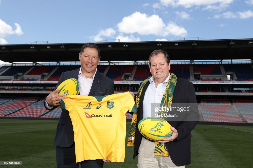 The Rugby Championship 2021 Fixture Media Announcement : News Photo