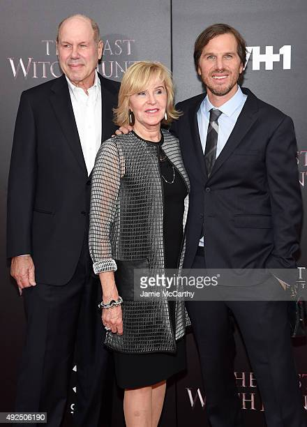 Former Walt Disney Company CEO Michael Eisner Jane Breckenridge and director Breck Eisner attend the New York premiere of The Last Witch Hunter at...